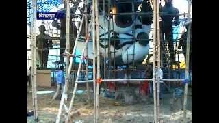 Biggest Lord Ganesha Statchu in Bilaspur Chhattisgarh on Ganesh Chaturthi Festival