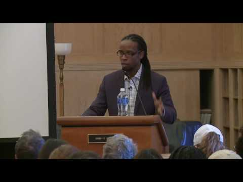 Dr. Ibram X. Kendi 2016 National Book Award winner in non-fiction speaks at the University of Oregon