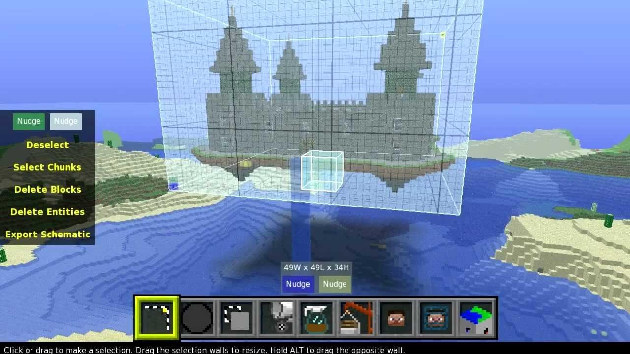 Minecraft Sky Castle Build Tutorial Spc
