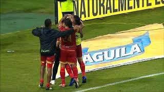 Once Caldas vs. Rionegro (1-1) Liga Aguila 2018 II | Cuartos de Final Vuelta
