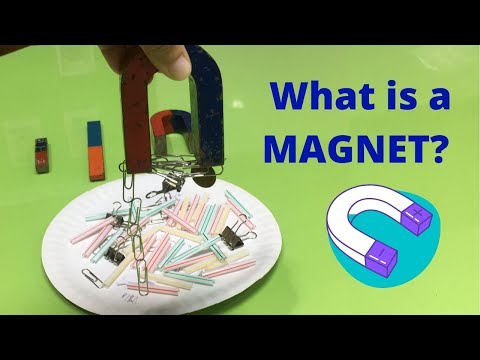 MAGNETS | WHAT IS A MAGNET? | Exploring Magnets - Lesson for Kids |