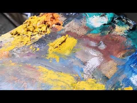Visit of Joseph Matar Art Studio 2019 - Lebanon Art - Artist painter from Lebanon