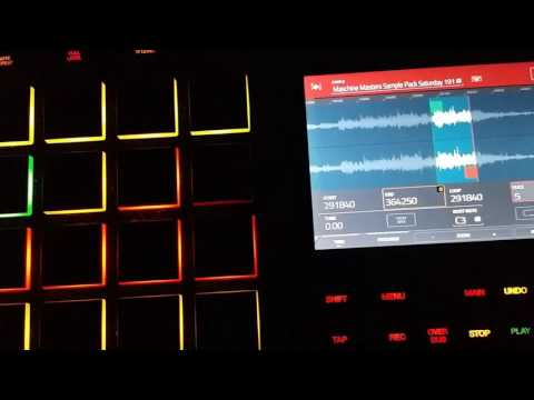 Sampling and slicing samples on the MPC Touch Pt.1