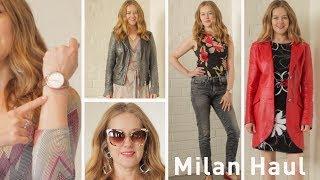 Milan fashion haul over 40 - Nau!, DMAG Outlet, Navigli Vintage, GA Accessory