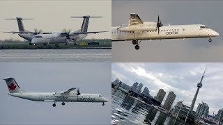 Toronto | Jun/13/2019 Planespotting at Billy Bishop Airport | With ATC
