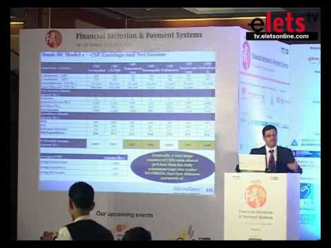 FIPS 2013 - Agency Banking Model for Inclusive Banking - Puneet Chopra, Director Asia, Microsave