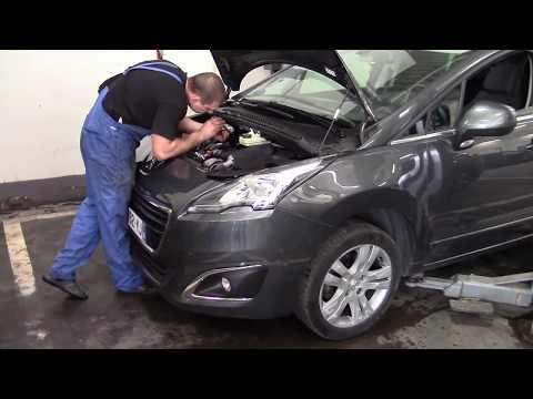 Peugeot 5008 Allure Full 2015. Диагностика в автосервисе (Украина).