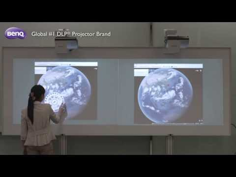 BenQ Education Projector - How to Set Up PointWrite with PointWrite Pen and Touch Module
