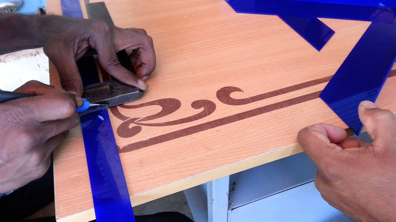 Led Sign Board Making With Acrylic Letter Youtube