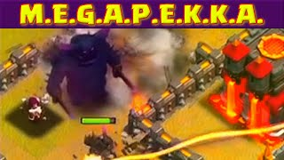 Clash of Clans MEGA PEKKA WAR ★ ClashCon Troll War With CoC Developers ★
