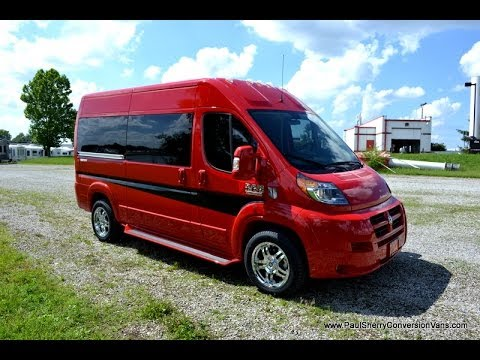 2014 Ram ProMaster 7 Passenger High Top Conversion Van By Sherry Vans Walkthrough