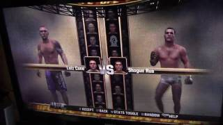 UFC undisputed 2010 ps3 unboxing and gameplay
