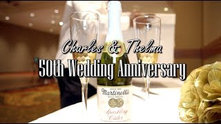 Mr. & Mrs. Reece: 50th Wedding Anniversary Celebration