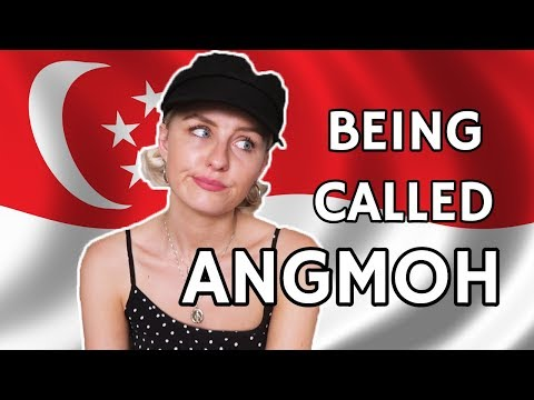MY THOUGHTS ON BEING CALLED ANG MOH! | SINGAPORE EXPAT Q&A