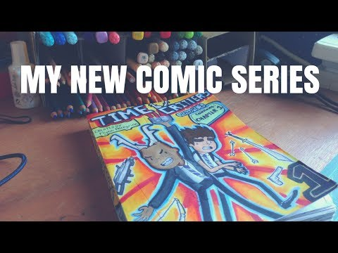 """My Comic Series """"Time Critters"""" +SPEED ART"""