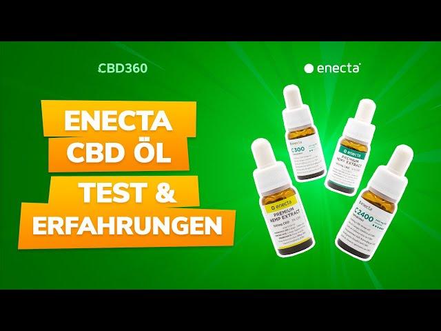 Enecta CBD Öl Test & Erfahrungen | Wie gut sind die CBD Öle des italienischen Herstellers?