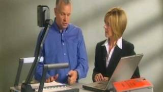 Genee Vision 6100 & 8100 visualiser / document camera - Video 1 Thumbnail