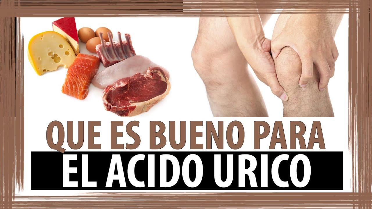 Que es bueno para el acido urico youtube - Alimentos reducir acido urico ...