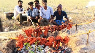 25 KG TANDOORI CHICKEN | Village style prepared full chicken tandoori | village food taste