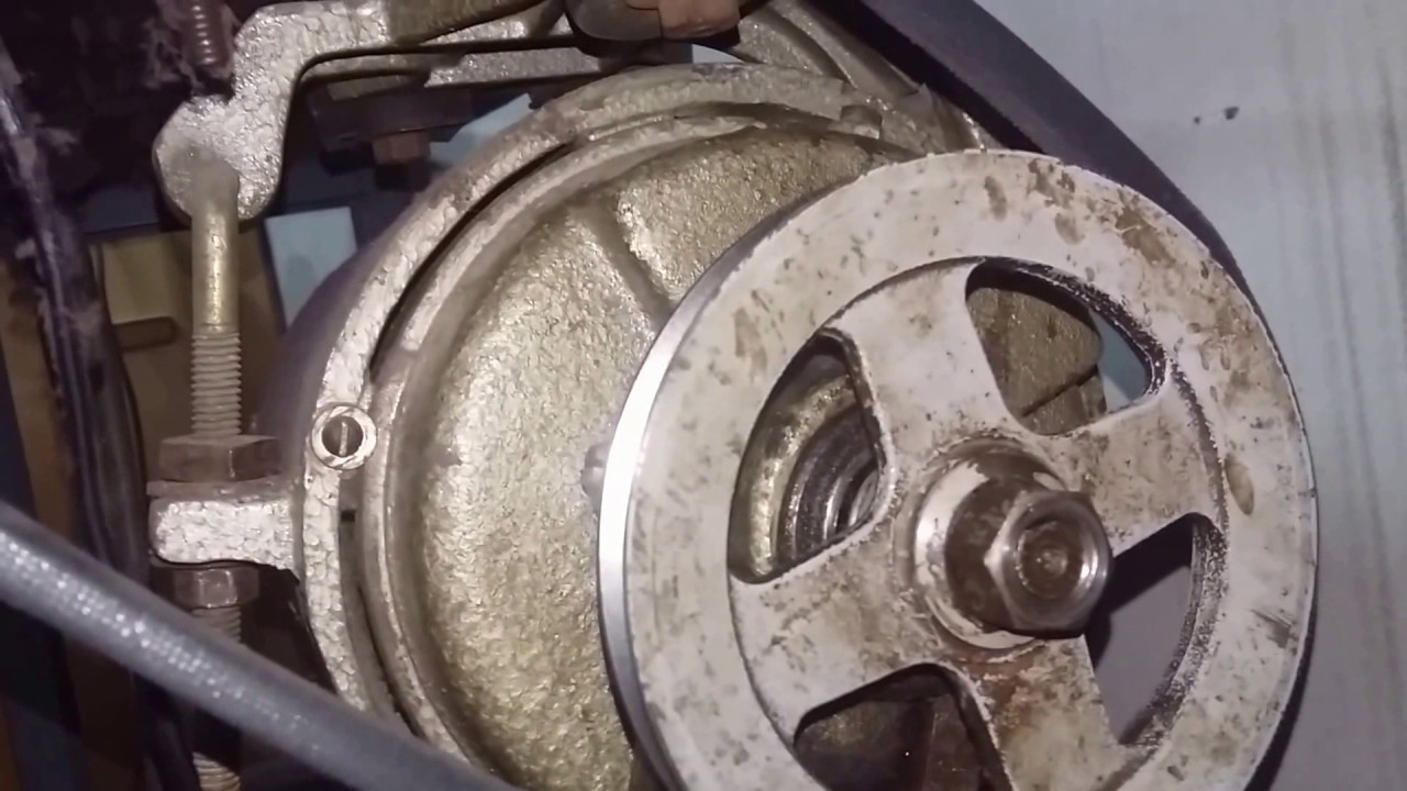 precionas el pedal de tu maquina industrial de coser y no