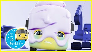 Buster the Ice Cream! | GoBuster Official | Nursery Rhymes | Songs for Kids | Single Episode thumbnail