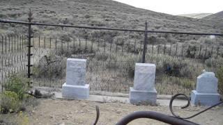 Bodie Graveyard (a California ghost town)