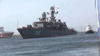 RUSSIAN NAVY FRIGATE YAROSLAV MURDY 727