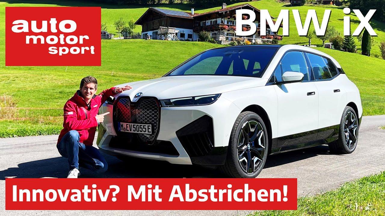 BMW iX (2021): Top-Reichweite, patzt aber beim Laden - Fahrbericht/Review | auto motor und sport