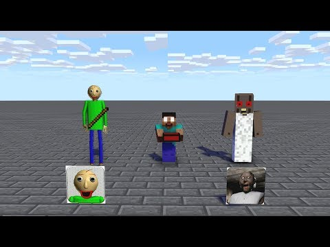 MONSTER SCHOOL : All episode Granny & Baldi VS Mobs