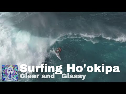 Surfing Ho'okipa Beach - Clear and Glassy December Swell