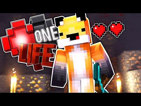 2 HEARTS LEFT..... - Minecraft One Life S3...