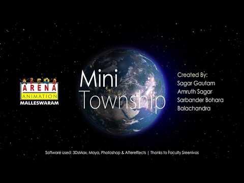 Mini Township (Creative Minds 1st Prize Winner, Bangalore)