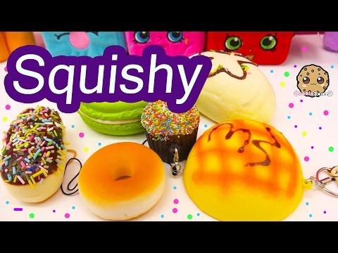 Random Lot Of Super Cute Food Squishies Cupcake Donut Squishy + More Cookieswirlc Video