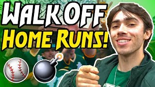 COLLEGE BASEBALL GAME DAY (Epic Walk-Off!!)