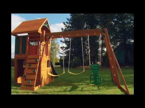 Детские игровые комплексы своими руками
