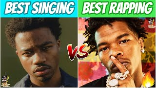 Rappers BEST Singing Song vs BEST Rapping Song!