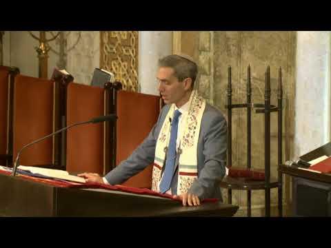 Rabbi Elliot Cosgrove - Shabbat Sermon 10.28.17