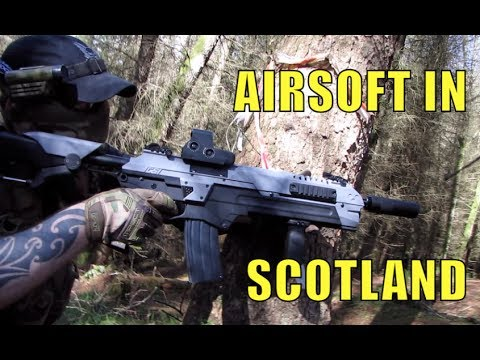 Airsoft War in Scotland June 2017