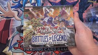 Yugioh Battle of Legends Lights Revenge Unboxing - Best Reprint Set! All Holo Cards!!!