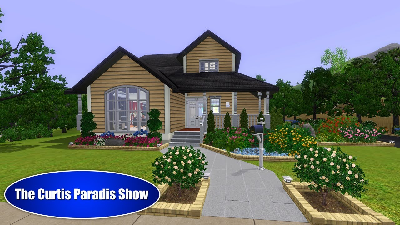 The sims 3 building serenity youtube for Classic house sims 3
