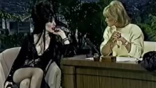 The Tonight Show Joan Rivers  Elvira 1980,s  Hd