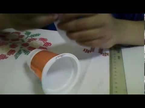 Como hacer una campana navide a con materiales resiclados - Como se hacen adornos navidenos ...