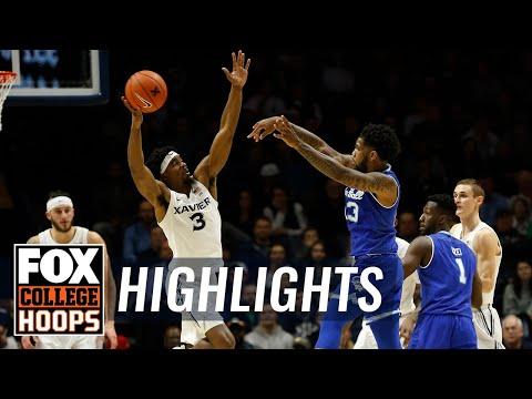 Xavier vs. Seton Hall | FOX COLLEGE HOOPS HIGHLIGHTS