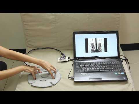 Semi liquid Space interactive installation