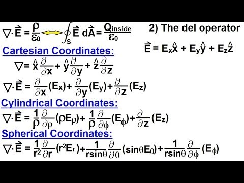Physics - E&M: Maxwell's Equations (10 of 30) Differential Form of ...