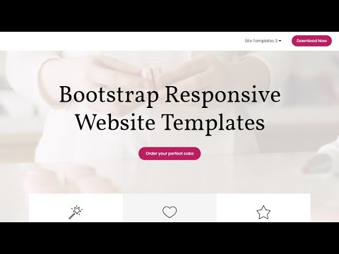 Bootstrap Responsive Website Templates Free Html Website Templates Youtube