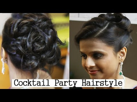 cocktail party hair styles cocktail hairstyle 2663 | hqdefault