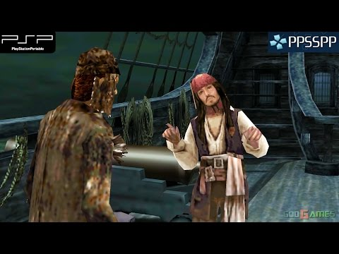 Pirates of the Caribbean: At World's End - PSP Gameplay 1080p (PPSSPP)