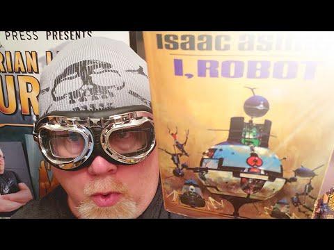 I, ROBOT / Isaac Asimov / Book Review / Brian Lee Durfee (spoiler free)