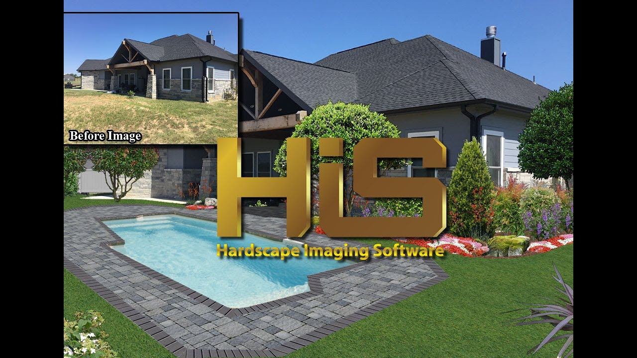 hardscape imaging design software youtube